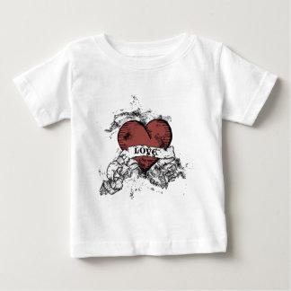 Grunge Love Heart Shirt
