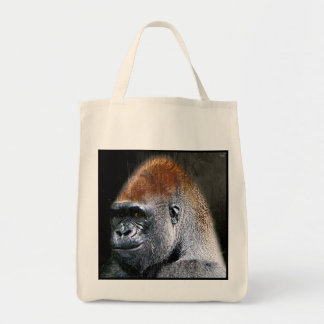 Grunge Lowland Gorilla Close-up Face Bags