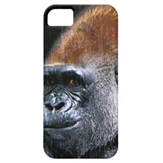 Grunge Lowland Gorilla Close-up Face iPhone 5 Covers