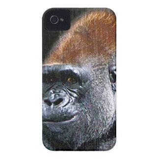 Grunge Lowland Gorilla Close-up Face Case-Mate iPhone 4 Case