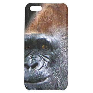 Grunge Lowland Gorilla Close-up Face iPhone 5C Cases