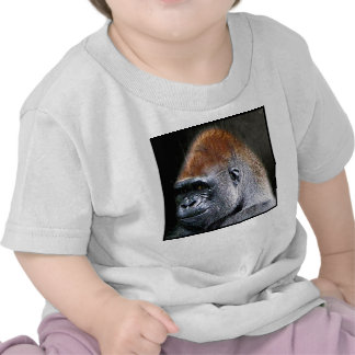 Grunge Lowland Gorilla Close-up Face Tees