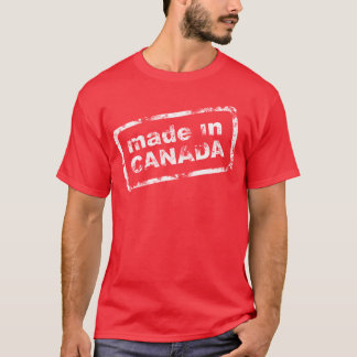 Grunge Made In Canada - Red Mens Shirt