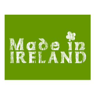 Grunge Made In Ireland Post Cards