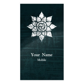 Grunge Mandala Double-Sided Standard Business Cards (Pack Of 100)