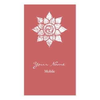 Grunge Mandala Business Card Templates