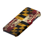 Grunge Maryland Flag Cover For iPhone 5