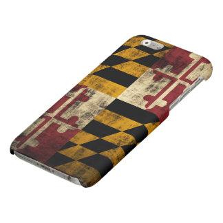 Grunge Maryland Flag Matte iPhone 6 Case
