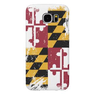 Grunge Maryland Flag Samsung Galaxy S6 Case