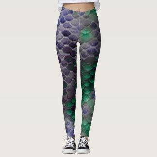 Grunge Mermaid Scale Leggings