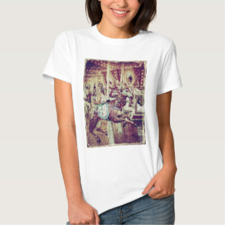 Grunge Merry-Go-Round Goat T Shirt