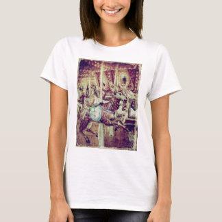 Grunge Merry-Go-Round Goat T-Shirt