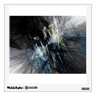 Grunge Mettalic Surface Wall Graphics