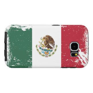 Grunge Mexico Flag Samsung Galaxy S6 Case