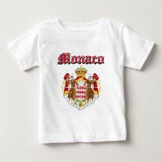 Grunge Monaco coat of arms designs Baby T-Shirt