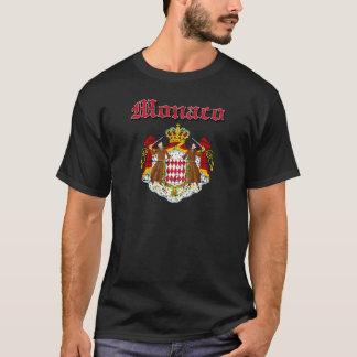 Grunge Monaco coat of arms designs T-Shirt