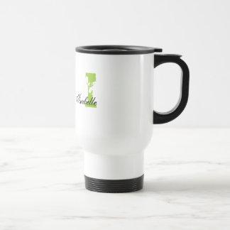 Grunge Monogrammed Coffee Mugs