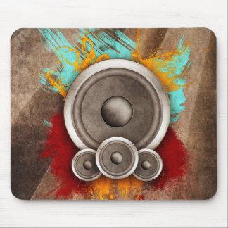 Grunge Music Mouse Pad