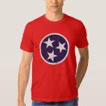 Grunge Nashville de la bandera del estado de Playera