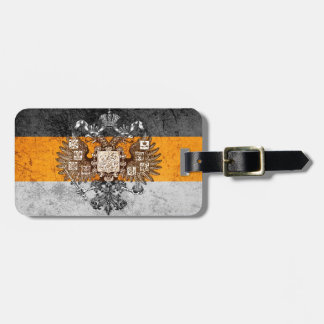 Grunge Nationalist Russia Flag Tag For Luggage