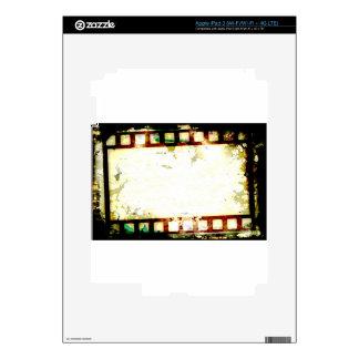 Grunge Negative Film iPad 3 Skins