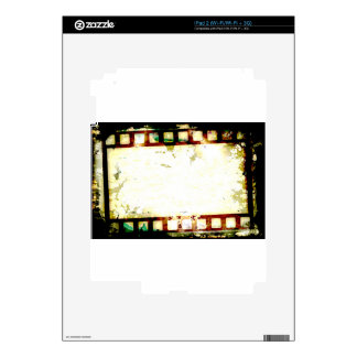 Grunge Negative Film Skin For The iPad 2