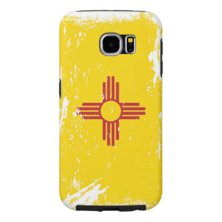 Grunge New Mexico Flag Samsung Galaxy S6 Case
