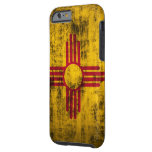 Grunge New Mexico Flag Tough iPhone 6 Case