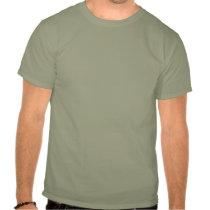 Hand shaped Grunge Ninja Warrior Shirt