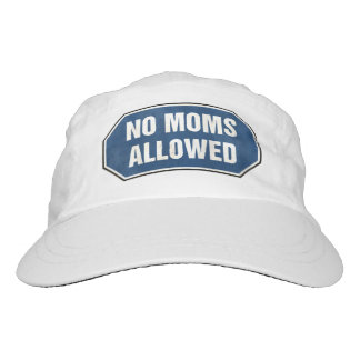 Grunge 'No Moms Allowed' sign Headsweats Hat