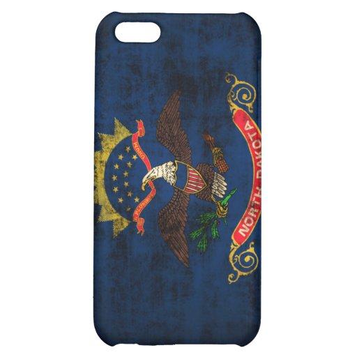 Grunge North Dakota Flag iPhone 5C Cover