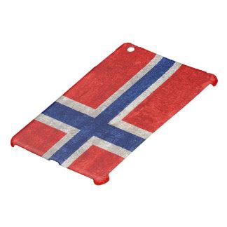Grunge noruego de la bandera apenado