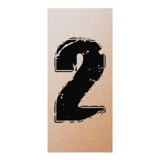 GRUNGE NUMBER 2 CUSTOM RACK CARDS