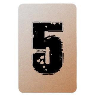 GRUNGE NUMBER 5 MAGNET