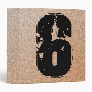 GRUNGE NUMBER 6 3 RING BINDER