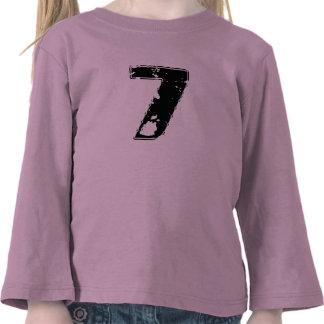 GRUNGE NUMBER 7 T SHIRT