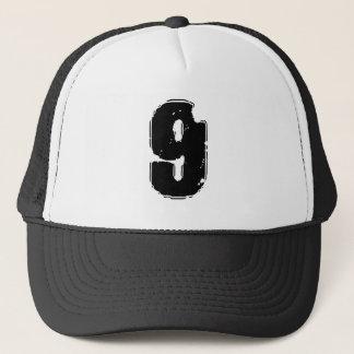 GRUNGE NUMBER 9 TRUCKER HAT