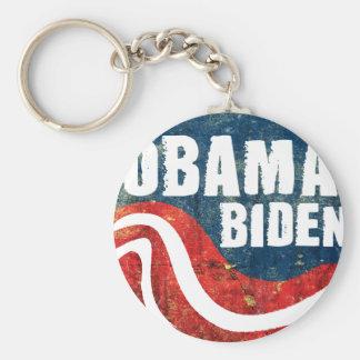 Grunge Obama Biden Keychain