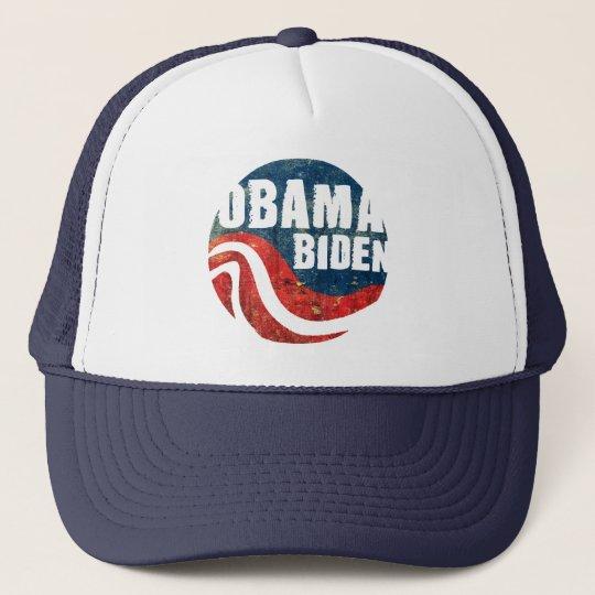 Grunge Obama Biden Trucker Hat