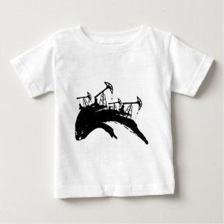 Grunge Oil Pump Baby T-Shirt
