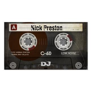 Grunge Old Cassette | Cool DJ Business Card