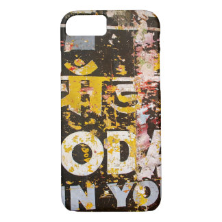 Grunge Old Sign Graphic Phone Case iPhone 7