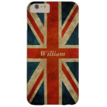 Grunge Old UK Flag - Great Britain Union Jack Barely There iPhone 6 Plus Case