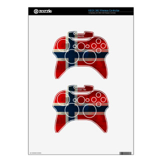 Grunge Painterly Theme Gifts Xbox 360 Controller Skin