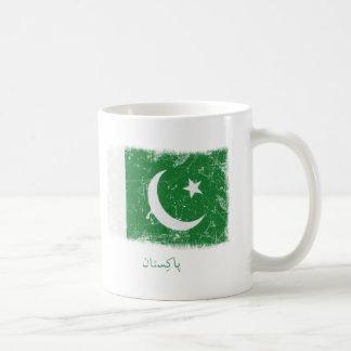 Grunge Pakistan Flag Coffee Mug