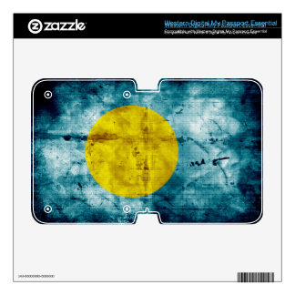 Grunge Palau Flag WD My Passport Skins