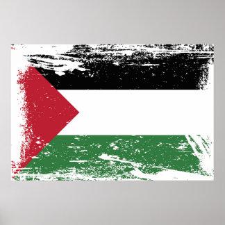 Grunge Palestine Flag Posters