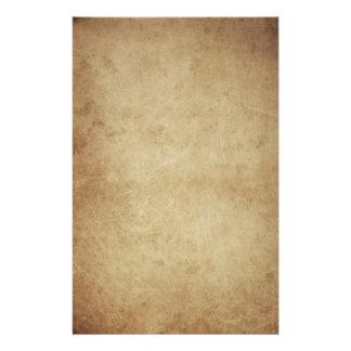 grunge parchment stationery