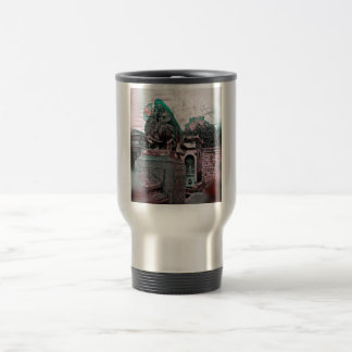 Grunge Paris Grave Travel Mug