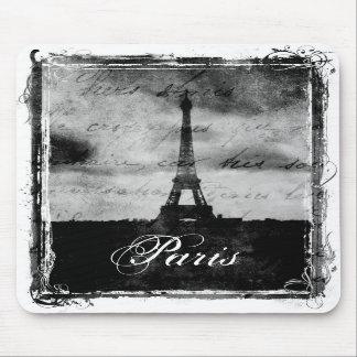 Grunge París texturizada borde Tapete De Raton